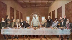 Last Supper with Scientists